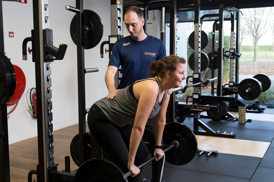 training bij rugpijn